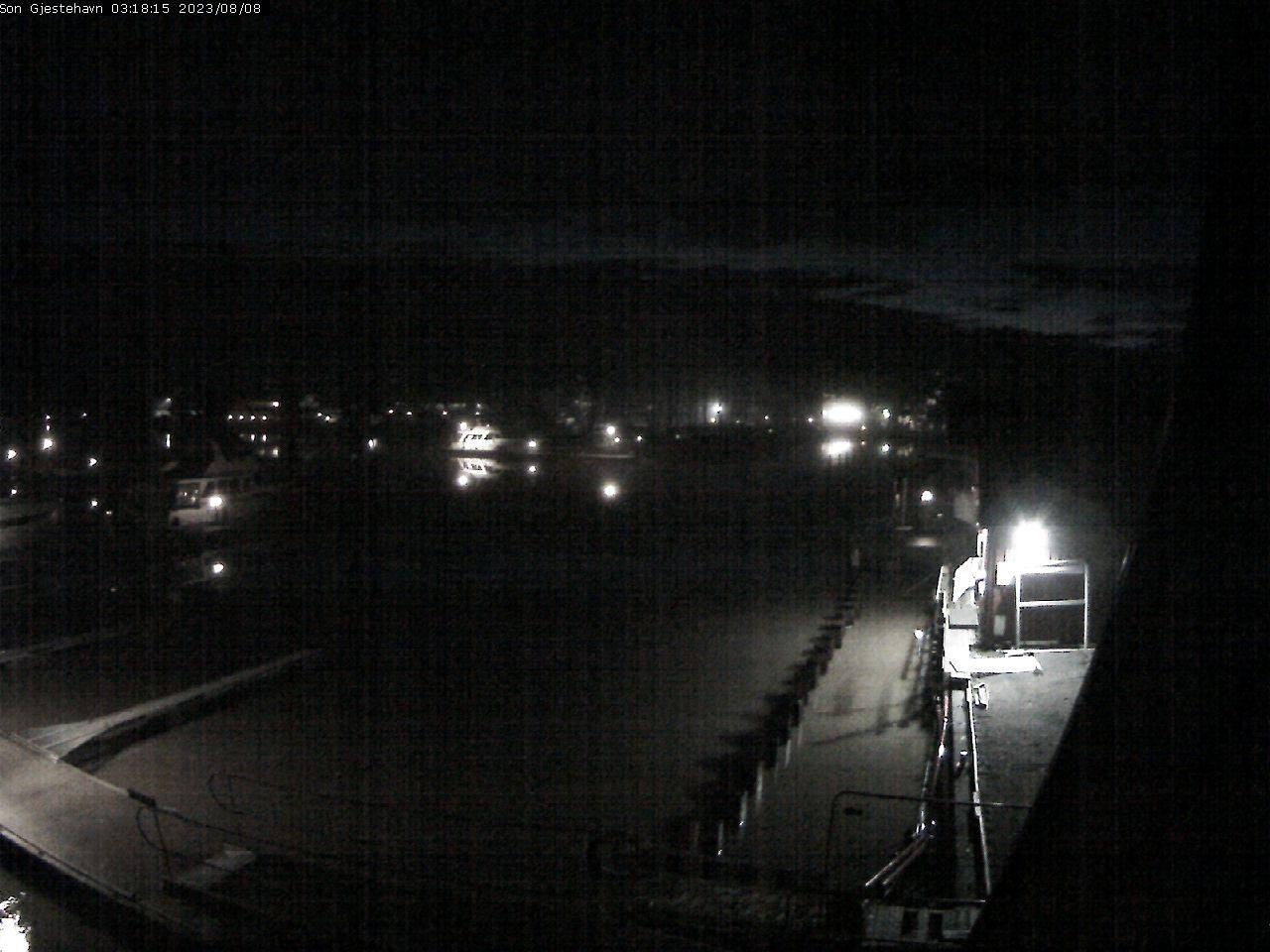 Son Gjestehavn - Indre havnebasseng mot brygge NB